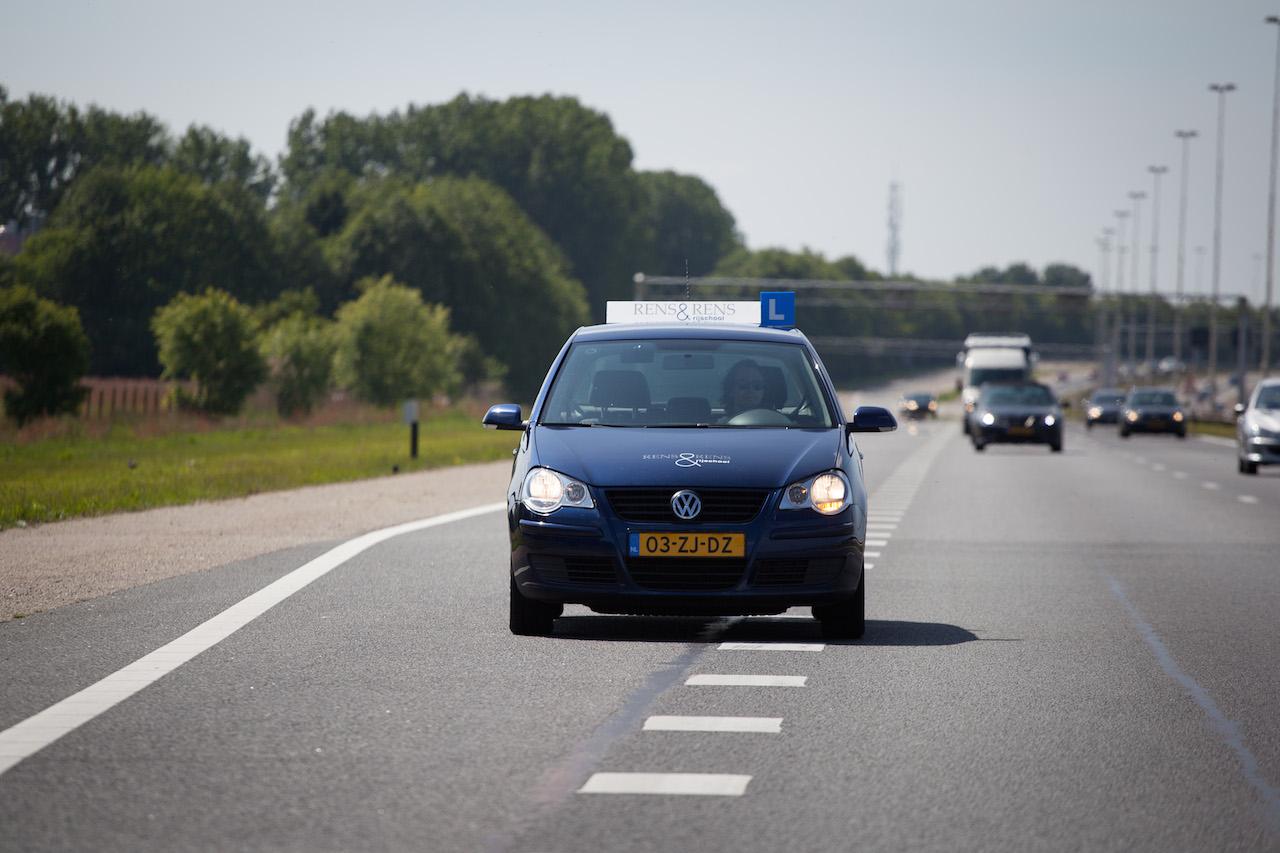 Invoegen op de snelweg